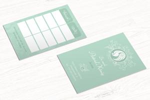 Grafikservice Termin Stempelkarten