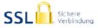 Bild Übertragungsweg SSL geschützt